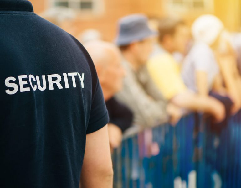 member-of-security-guard-team-on-public-event-P5ST5KK